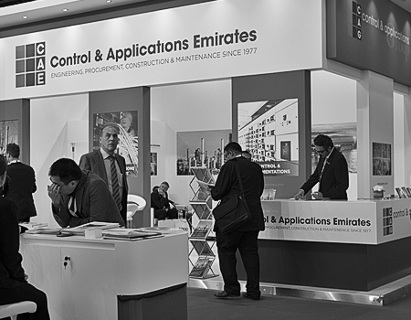 CAE stand at ADIPEC 2014
