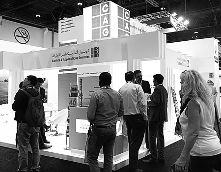 CAE stand at ADIPEC 2017